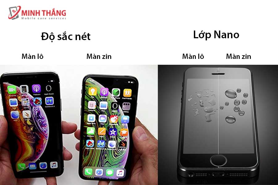 màn hinh iphone 6 zin hay lô