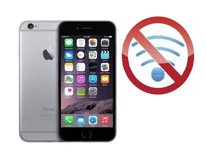 iPhone 6 bắt wifi yếu