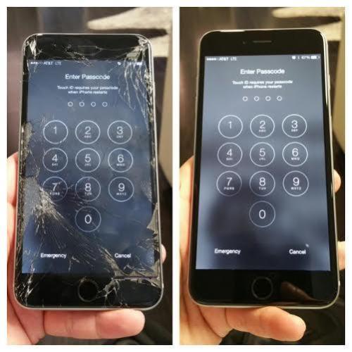 thay kính màn hình iPhone 6s