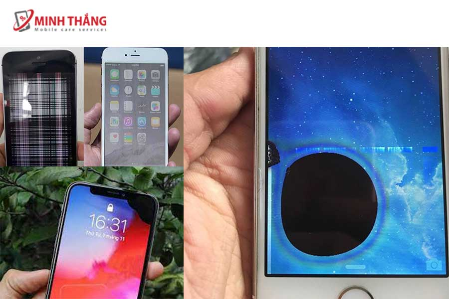 thay màn hình iphone không chính hãng