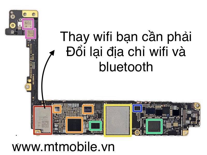 thaywifi Bí quyết khắc phục Iphone 8 8plus mất wifi