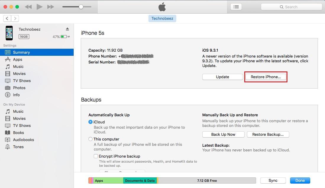 0ss Khắc phục hiệu quả Iphone 6 plus không nhận sim