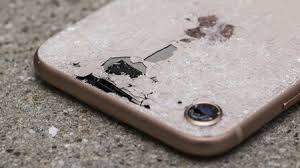 iphone 8 bể kính lưng