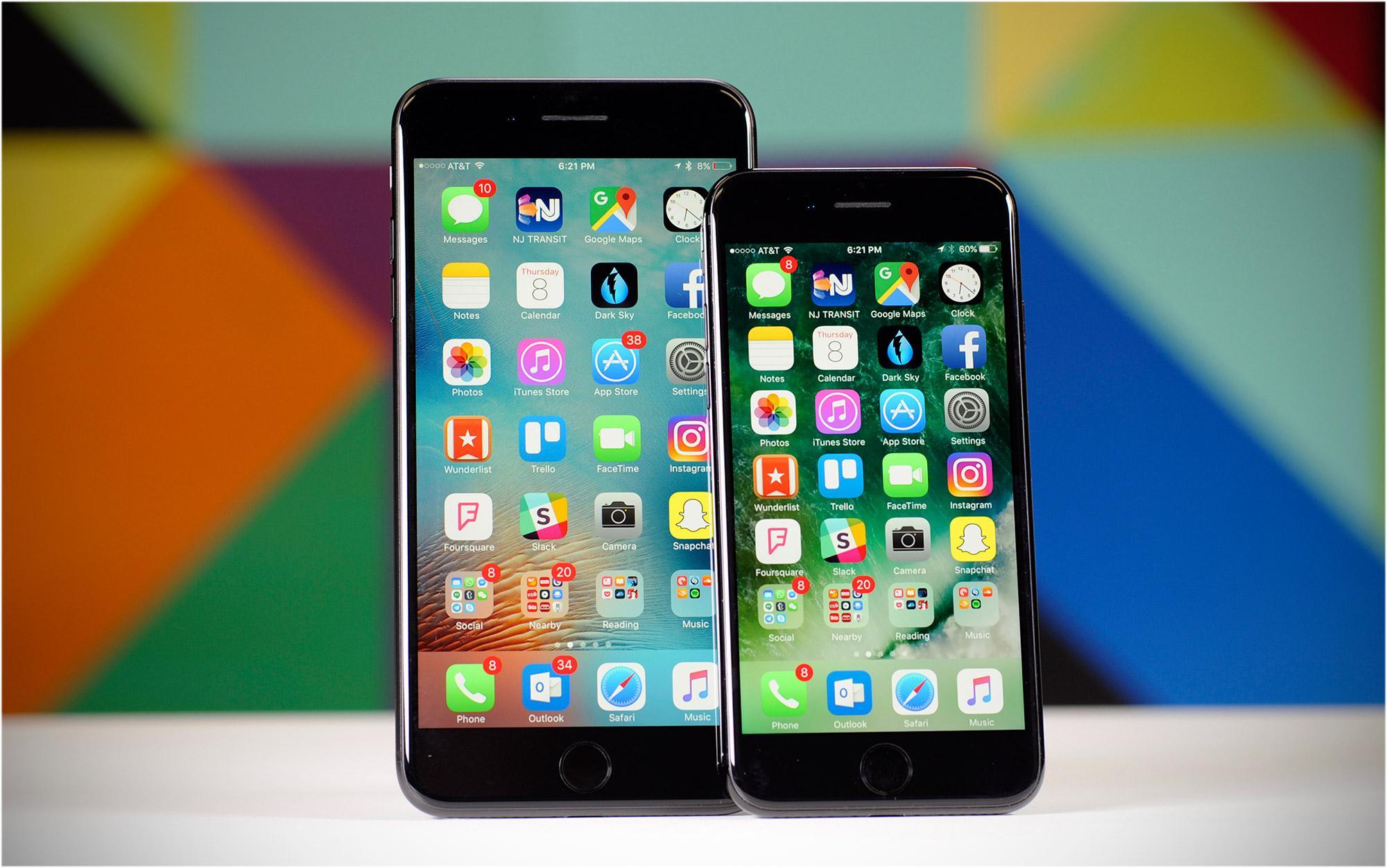 Iphone 7 lỗi