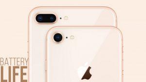iphone 8 plus sac bao lau thi day 1 So sánh pin iPhone 8 plus với các dòng iPhone khác