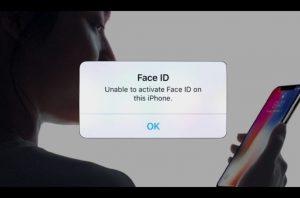 iphone X khong nhan dien khuon mat 1 Khắc phục iPhone X không nhận diện khuôn mặt
