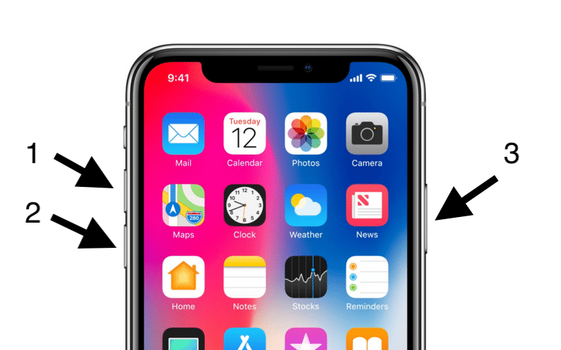 iphone x tut pin qua dem 2 Khắc phục iPhone X tụt pin qua đêm