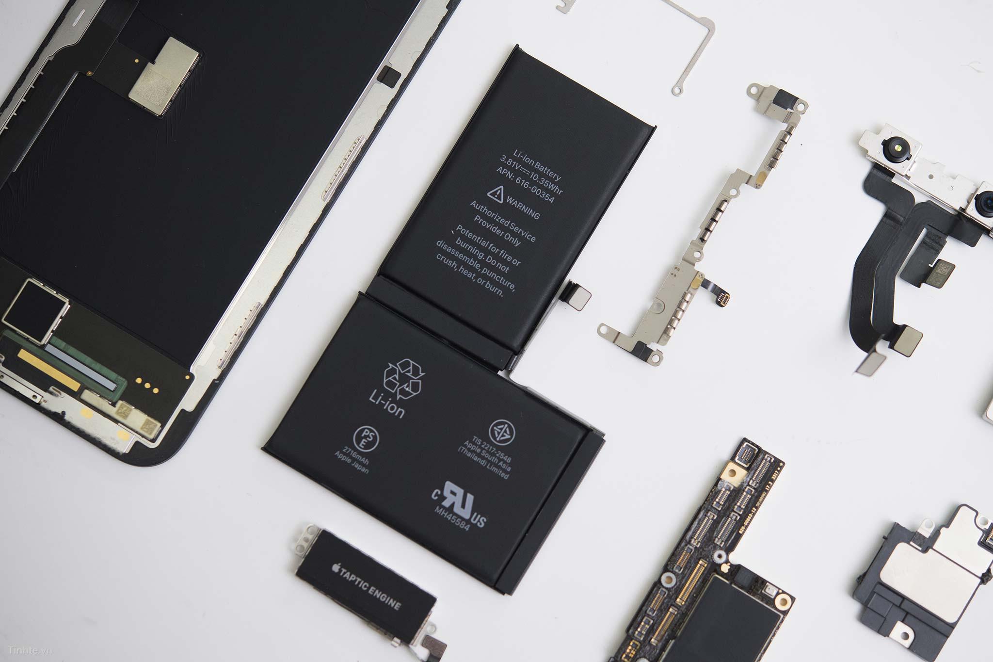 pin iphone x sac bao lau thi day 1 Bạn đã biết pin iphone X sạc bao lâu thì đầy chưa?