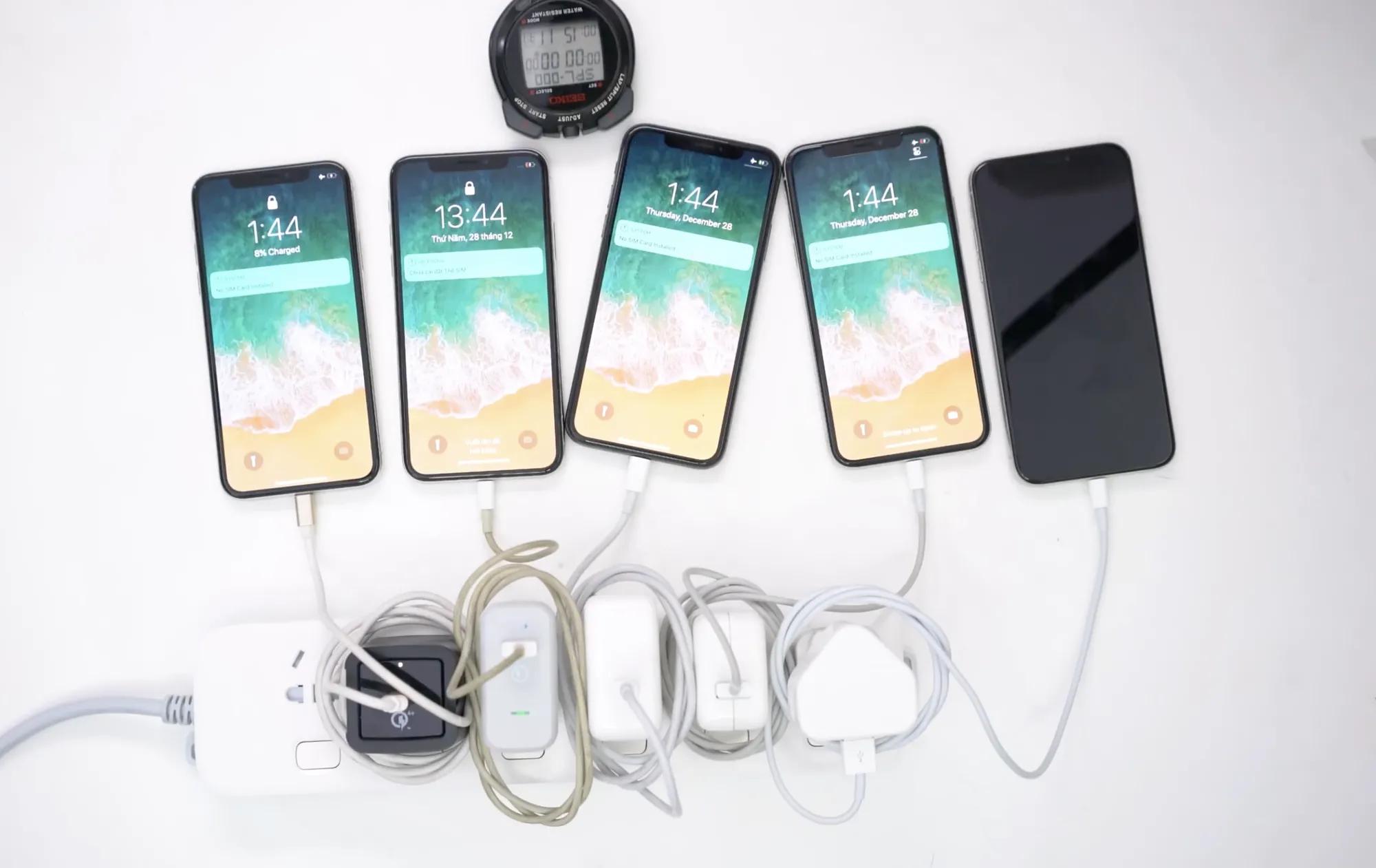 pin iphone x sac bao lau thi day 3 Bạn đã biết pin iphone X sạc bao lâu thì đầy chưa?